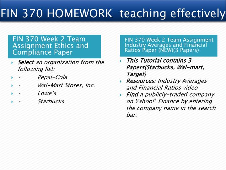 fin 370 week 2 ethics and compliance paper This paperwork comprises fin 370 version 7 week 2 ethics and compliance paper select an organization from the following list: • pepsi-cola.