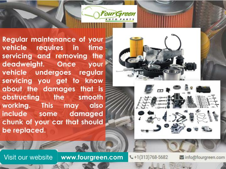 Regular maintenance of your vehicle requires in time servicing and removing the deadweight. Once you...
