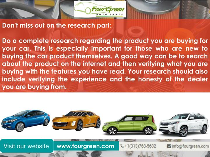 Don't miss out on the research part: