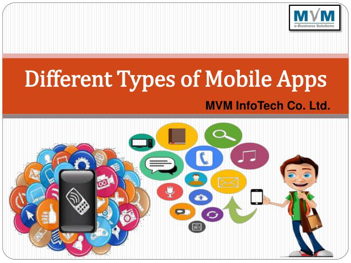 different types of mobile apps