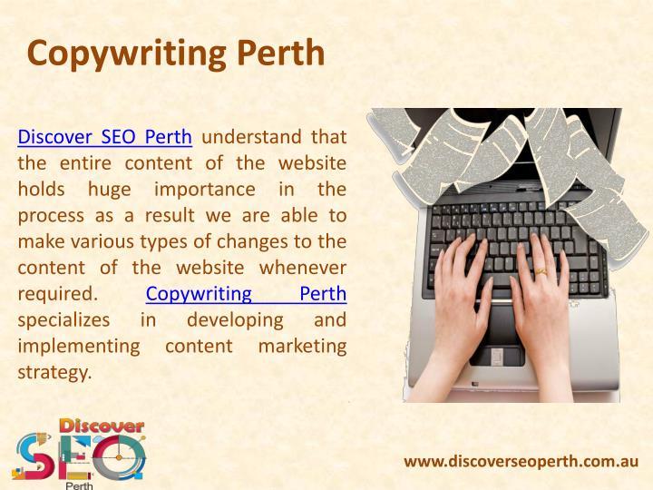 Copywriting Perth