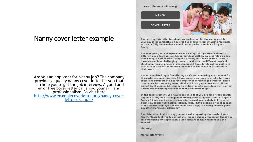 Cover Letter For Camp Counselor from image4.slideserve.com