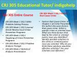 crj 305 educational tutor indigohelp1