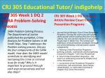 crj 305 educational tutor indigohelp2