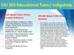 crj 305 educational tutor indigohelp7