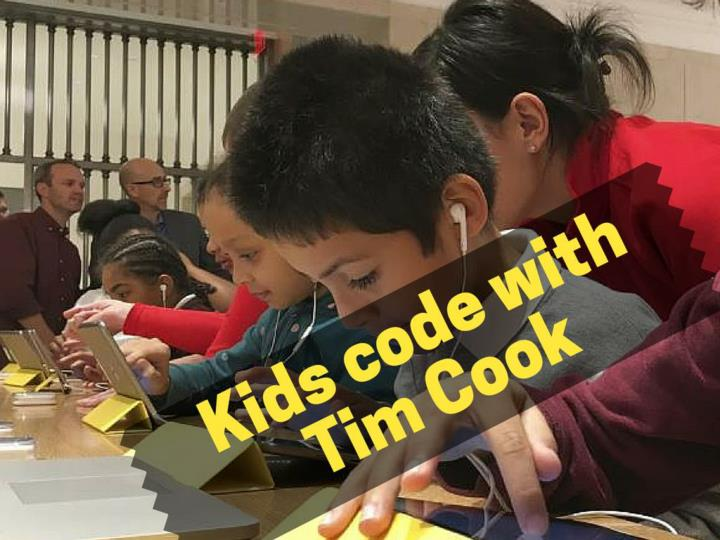 kids code with tim cook n.
