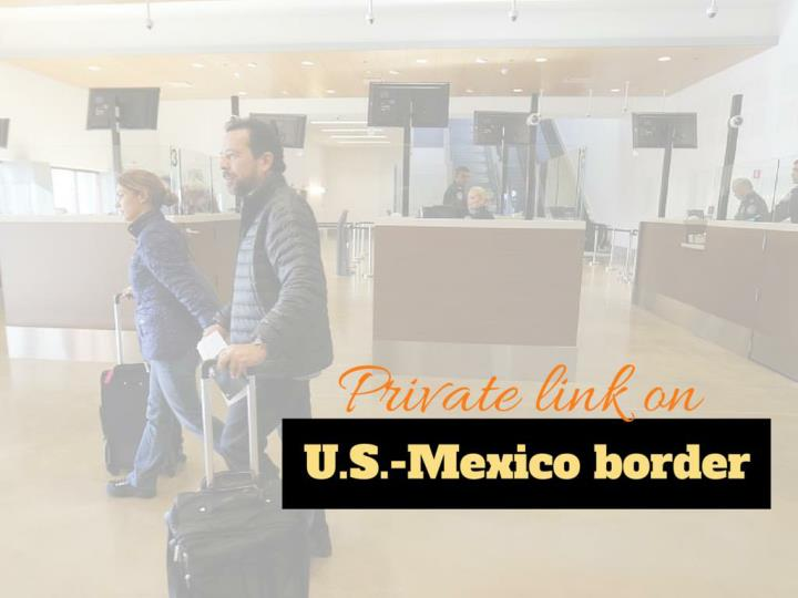 private link on u s mexico border n.