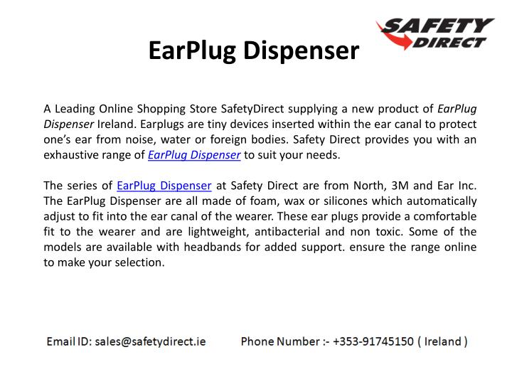EarPlug Dispenser