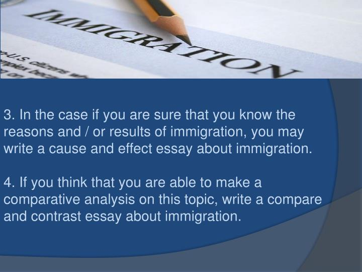 effects of immigration essay How can the answer be improved.
