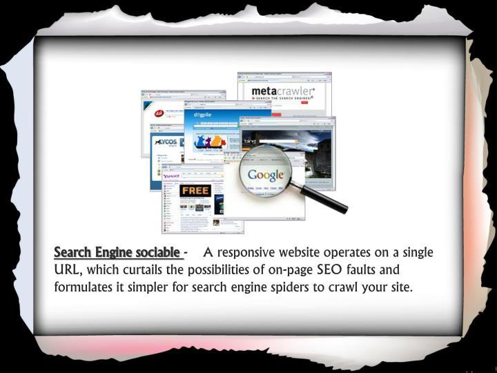 Search Engine sociable