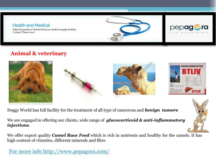 Animal & veterinary