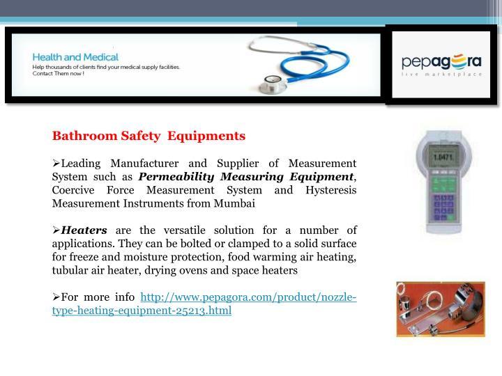 Bathroom Safety  Equipments