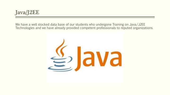 Java/J2EE