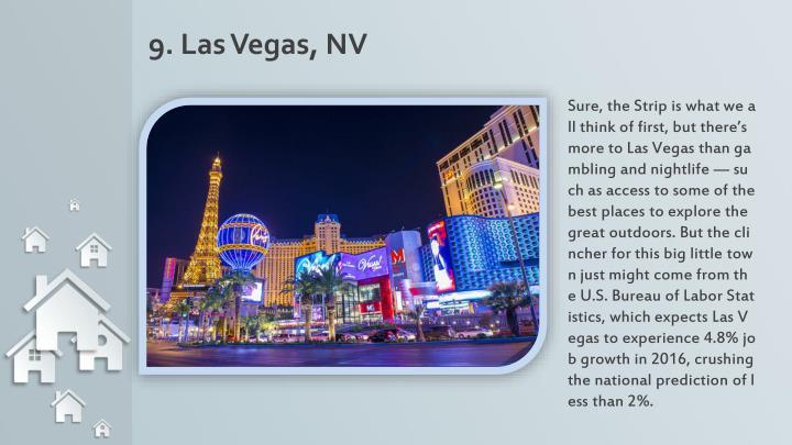 9. Las Vegas, NV
