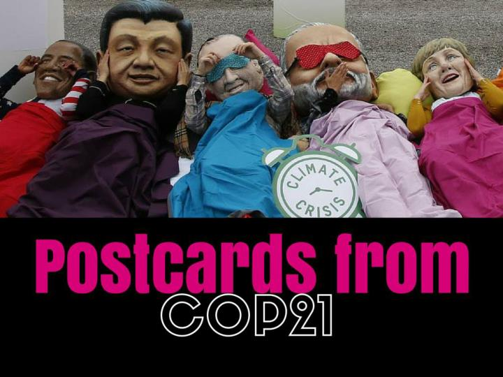 postcards from cop21 n.