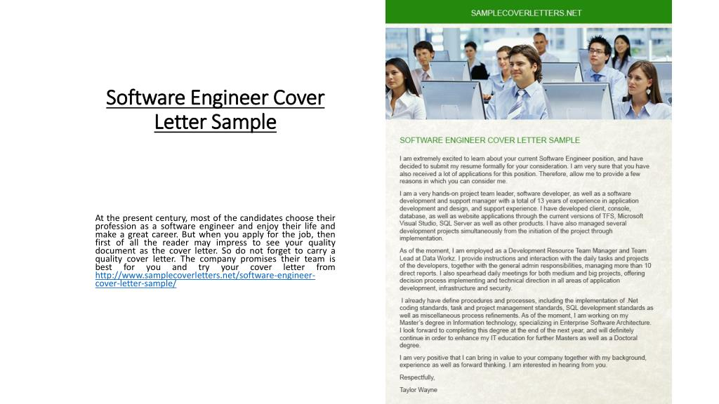 Ppt Software Engineer Cover Letter Sample Powerpoint Presentation Free Download Id 7259475