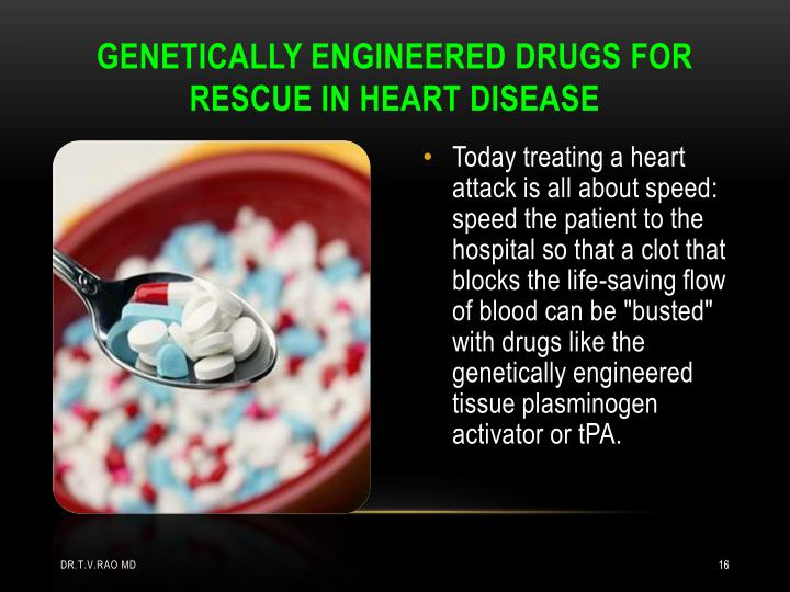 GENETICALLY ENGINEERED DRUGS FOR