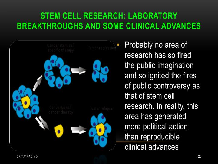 STEM CELL RESEARCH: LABORATORY
