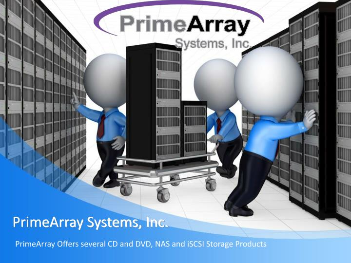 primearray systems inc n.