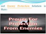 get enemy p rotection solution is here