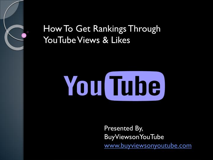 how to get rankings through youtube views likes n.
