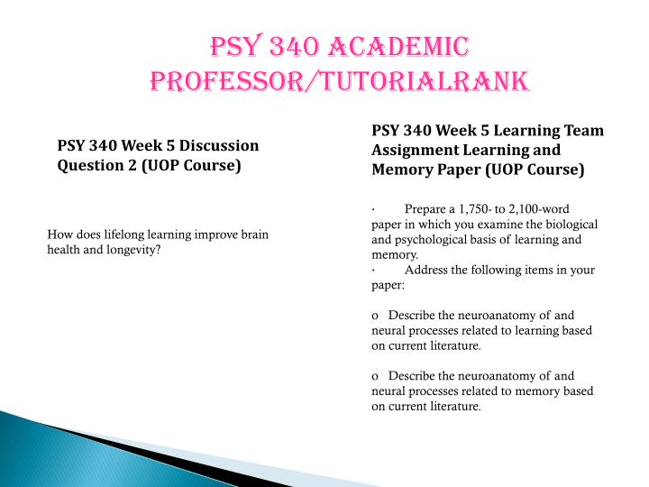 examine the biological and psychological basis of learning and memory Cognitive psychology explores the branch of mental science that deals with  motivation,  perception, thinking, memory, attention, language, problem solving,  and learning  what are some tried and true ways to improve your memory   this website is certified by health on the net foundation.