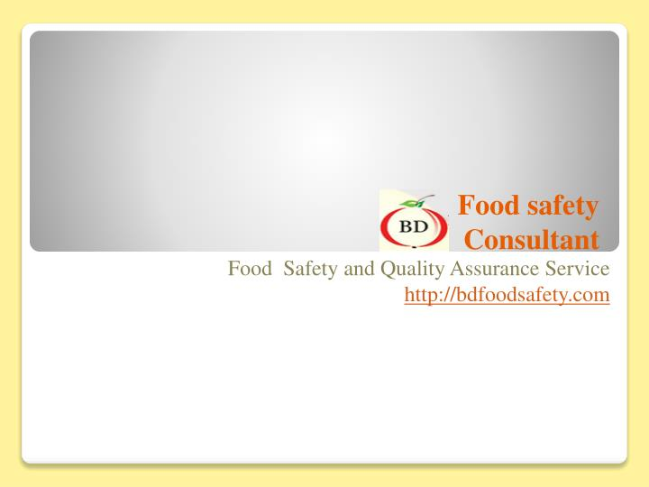 food safety in bd Bangladesh food safety authority only issues circulars in national dailies, and  issues awareness posts on the social media it has no activity at.
