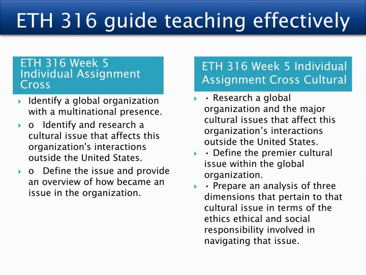 global organization and a cultural issue that affects this organization s interactions outside the u