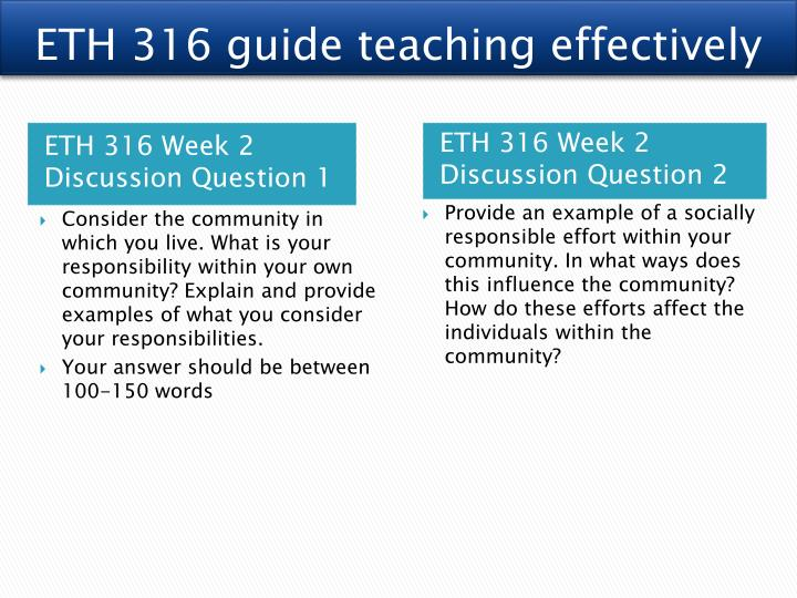 eth 316 community profile Title: eth 316 week 2 team assignment community profile, author: alexander20, name: eth 316 week 2 team assignment community profile, length: 3 pages, page.