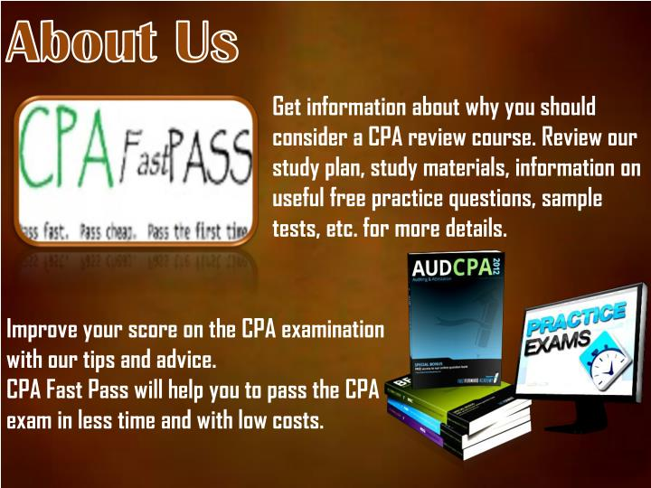 Surgent CPA Review | Best CPA Exam ... - CPA Exam Course