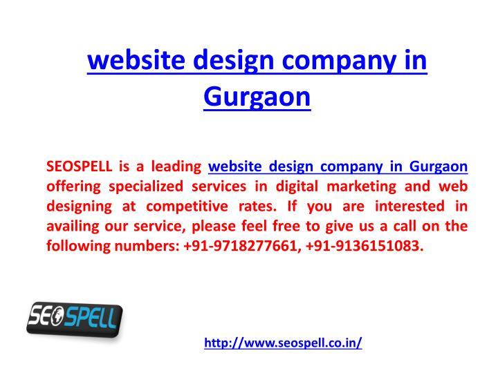 website design company in