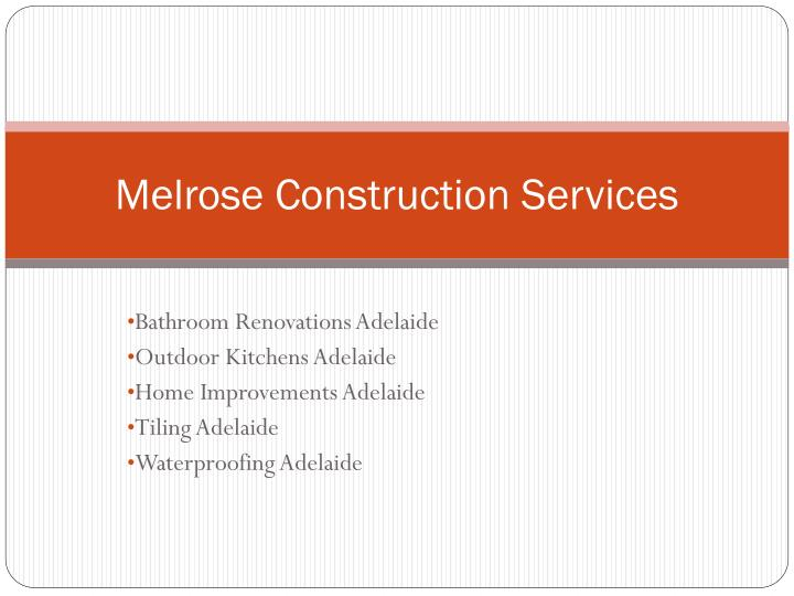 melrose construction services n.