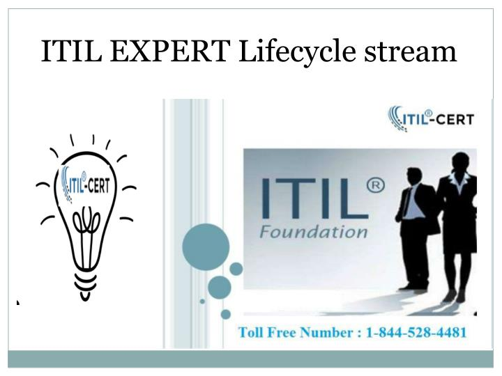 ITIL EXPERT Lifecycle stream