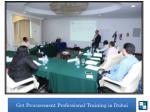 get procurement professional training in dubai9