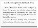 event management system india1