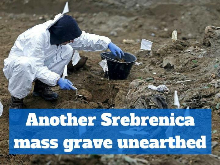 another srebrenica mass grave unearthed n.