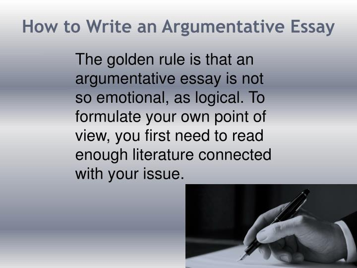 argumentative essay set up How to write an argument essay step by step updated on july 3, 2018 virginia kearney  argument essays are fairly straightforward in their organization in your paper, you will need to do the following  the statement that explains how the data backs up the claim example: government regulation works in other instances.