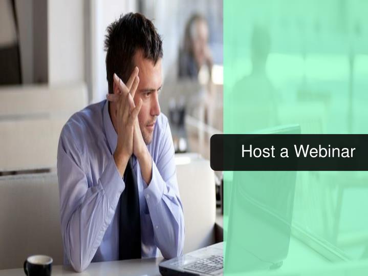 Host a Webinar