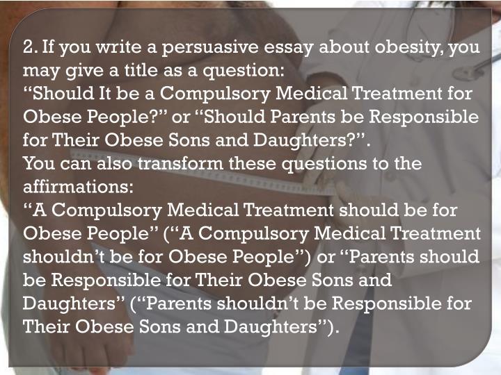 obesity 2 essay Obesity essay points george ritzer 1993 mcdonaldization essay sari essayah numeros supreme dissertation quizlet savitribai phule essay in marathi language essay on background and identity.