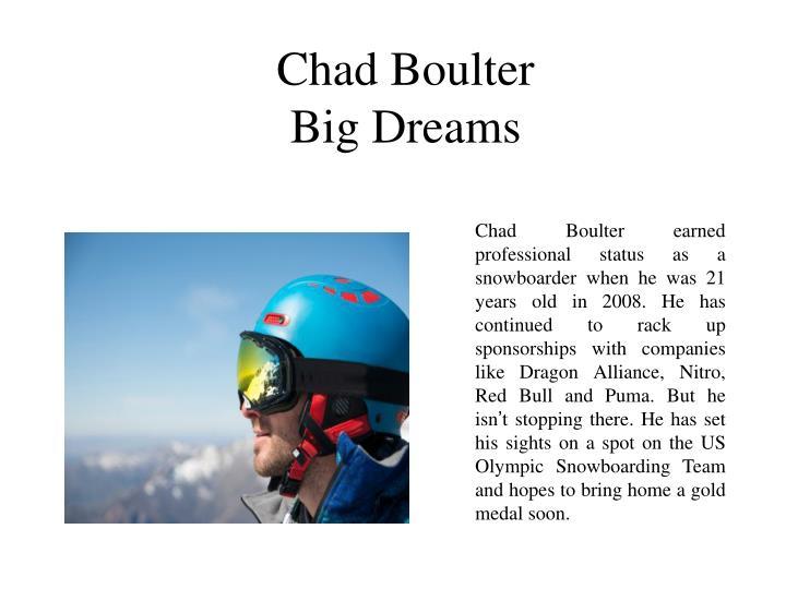 Chad Boulter
