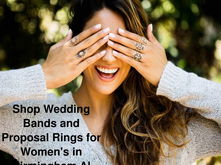 Shop Wedding Bands and Proposal Rings for Women's in Birmingham Al