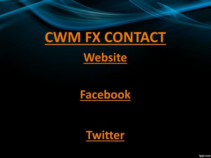 CWM FX CONTACT