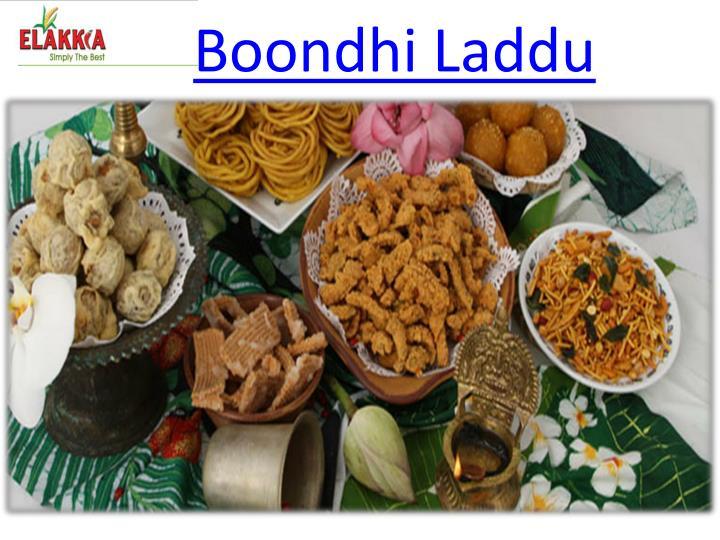 Boondhi