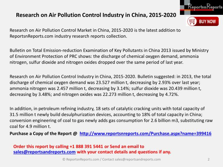 research paper on air pollution control Air pollution reduction this paper will explore how air quality effects of urban trees and parks www.
