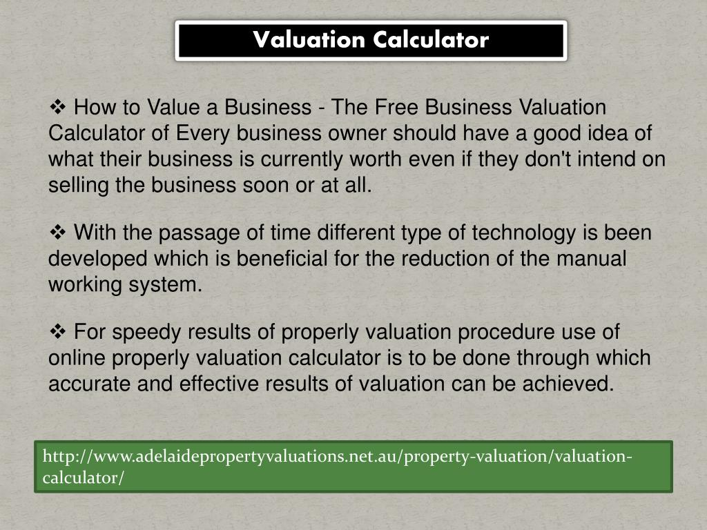 PPT - Get secure land valuations with Adelaide Property