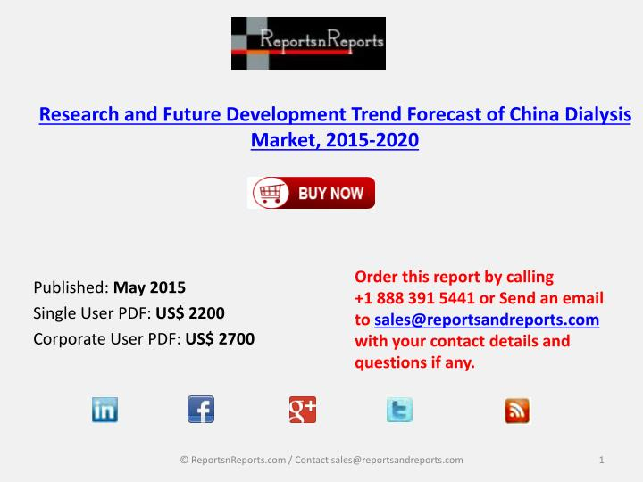 PPT - Research and Future Development Trend Forecast of