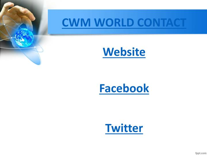 CWM WORLD