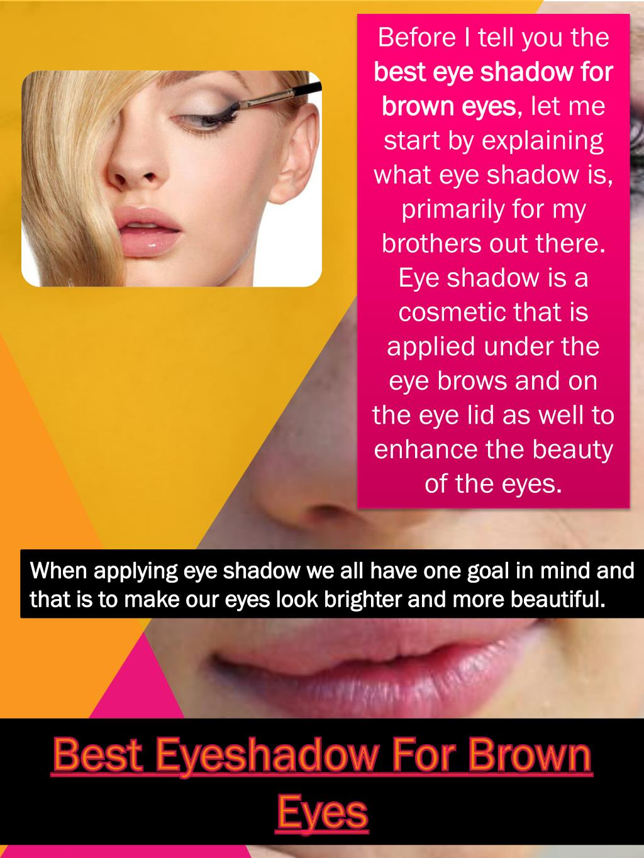 Ppt Makeup For Hazel Eyes Powerpoint Presentation Id7263548