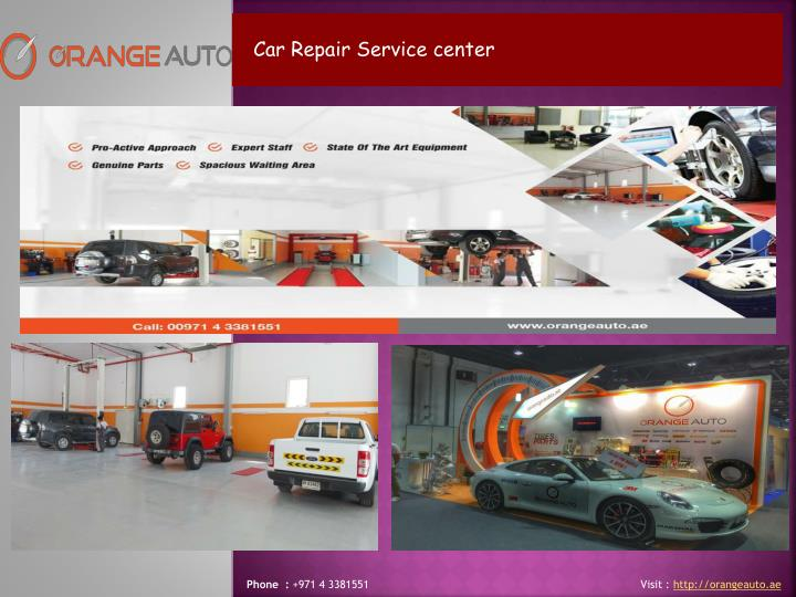 Car Repair Service center