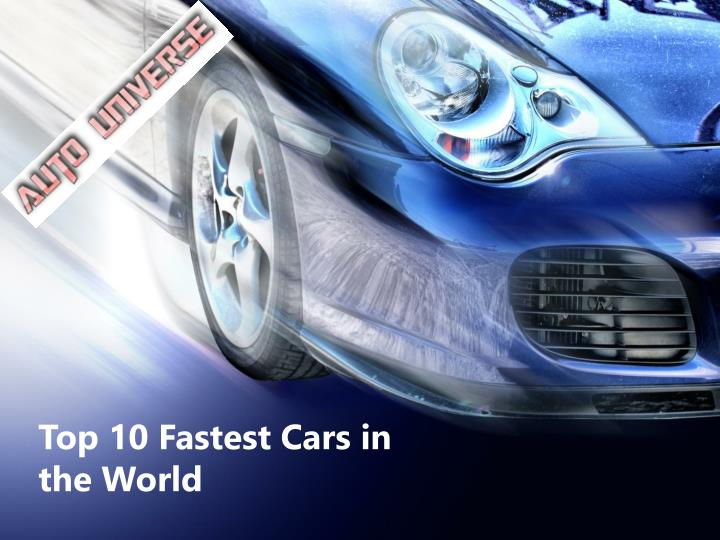 top 10 fastest cars in the world n.